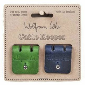 Cable Keeper Navy & Green by Wolfram Lohr | Restoration Yard