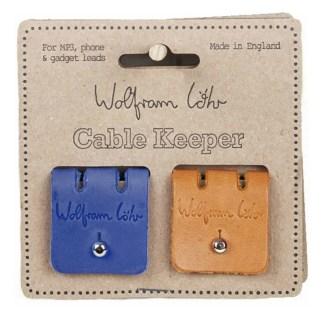 Cable Keeper Tan Marine & Blue by Wolfram Lohr | Restoration Yard