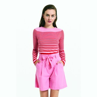 Maglia Striped Pink and Red Jumper by Ottod'ame | Restoration Yard