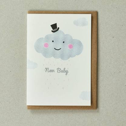 Cloud Greeting Card by Petra Boase   Restoration Yard