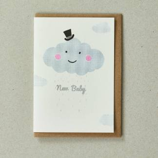 Cloud Greeting Card by Petra Boase | Restoration Yard