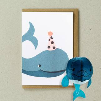 Japanese Paper Balloon Cards Whale by Petra Boase | Restoration Yard