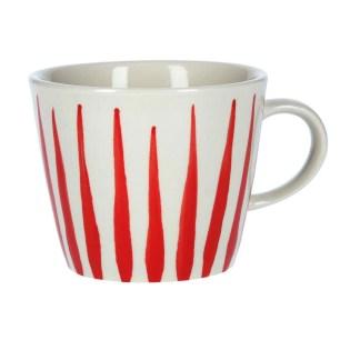 Ceramic Mug Red Flame by Gisela Graham | Restoration Yard