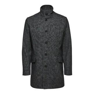 Morrison Wool Coat Dark Grey by Selected Homme | Restoration Yard