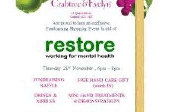 Special pampering event at Crabtree and Evelyn for Restore