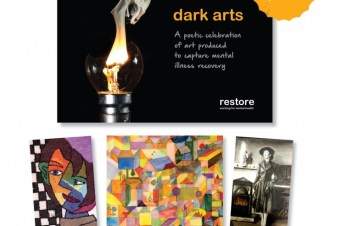 Restore's first published book out now: Dark Arts – mental health, art and poetry
