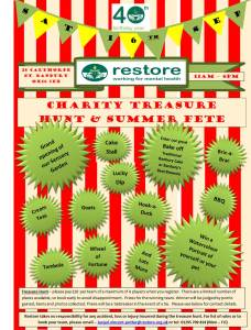 Charity Treasure Hunt & Summer Fete @ Restore, The Orchard | England | United Kingdom