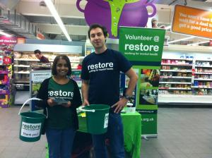 Christmas Bucket Collection - Didcot Tesco @ Tesco Didcot | England | United Kingdom