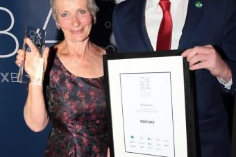 Restore awarded top charity accolade in Oxfordshire Business Awards