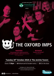 The best comedy show in Oxford! Book to see the Oxford Imps on Tuesday 30th October! @ the jericho tavern oxford | England | United Kingdom
