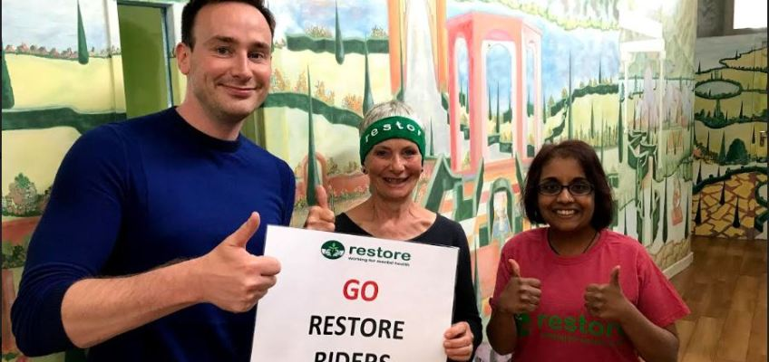 Riders for Restore raise nearly £5,000 at Bike Oxford
