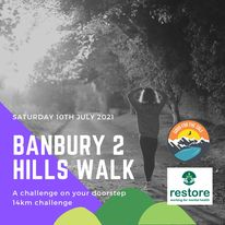 Good for the Sole - Banbury 2 Hills Walk 2021 (14km) @ Banbury - Crouch Hill and Hobbs Hill