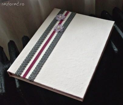 album handmade violet
