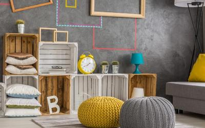 3 Ideas of How to Turn Recycled Items Into Functional Living Room Decorations