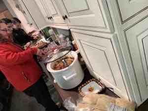 Constructeam Halloween Potluck Lunch Fraser MI 02