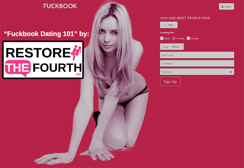 Fuckbook Dating Homepage