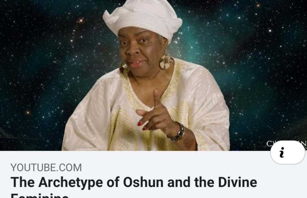 Oshun is home! – Nigerian Yoruba tribal story about the divine feminine