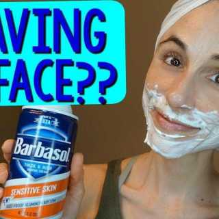 A Woman's Guide to Shaving Her Face