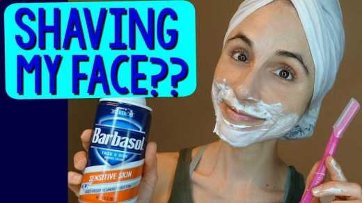 A Woman's Guide to Shaving Her Face 2020