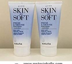 Avon SKIN SO SOFT Hair Removal Cream