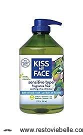 Kiss My Face Fragrance-Free Shower Gel