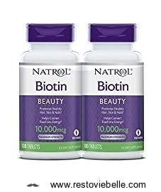Natrol Biotin Maximum Strength Tablets