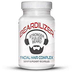 Beardilizer Facial Hair Growth Complex & 90 Capsules