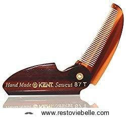 Edition Kent 87t Folding Beard && Mustache Comb