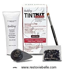 Godefroy Color Tint Kit Medium (Brown) - Best Beard Dye
