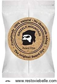 Grizzly Mountain Organic Natural Dark Brown Beard Dye