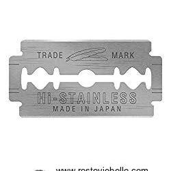 Feather Hi-stainless Platinum Double Edge Razor Blades