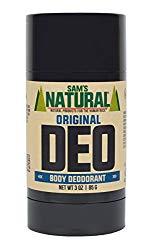Sam's Original Natural Deodorant Stick