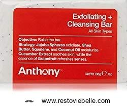 Anthony Exfoliating & Cleansing Bar Soap
