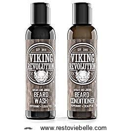 Beard Wash   Beard Conditioner Set