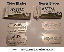 Astra Platinum Double Edge Safety Razor Blades 1