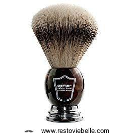 Parker Safety Razor 100% Silvertip Badger Bristle Shaving Brush 1