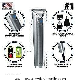 Wahl Clipper Trimmers for Men - best beard trimmer for long beards 1
