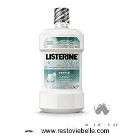 Listerine Healthy White Gentle Anticavity Mouthwash