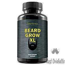 Beard Grow XL A Facial Hair Supplement
