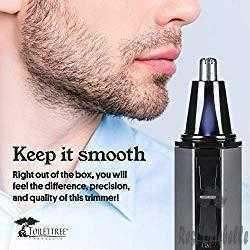 ToiletTree Nose and Ear Hair Trimmer with LED Light 1