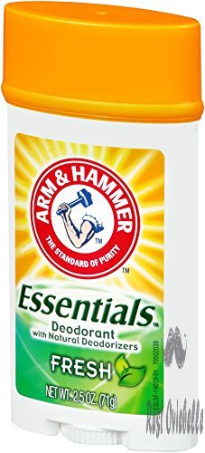 Arm & Hammer Essentials Natural Deodorant, Fresh 2.5 oz (Pack of 6)  Image 2