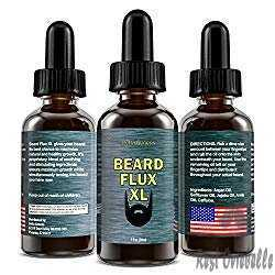 Beard Flux XL & Caffeine Beard Growth Stimulating Oil