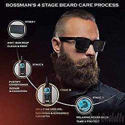 Bossman Mixture Of Beard Oil And Balm 1