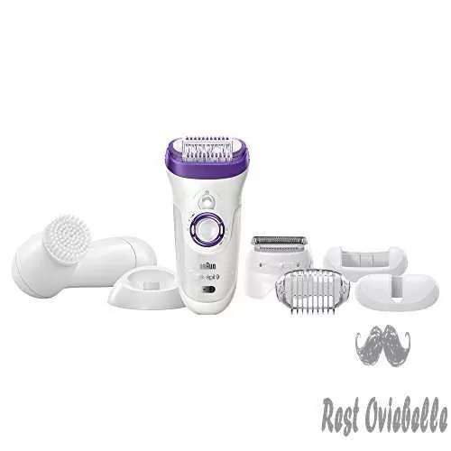 Braun Silk-épil 9 9-579 - Wet & Dry Cordless Epilator / Epilation + 7 extras