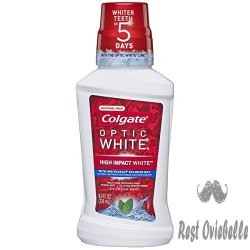 Colgate Optic White Whitening Mouthwash,