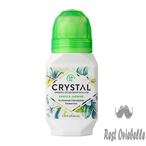 Crystal Mineral Deodorant Roll-On, Vanilla Jasmine, 2.25 fl oz