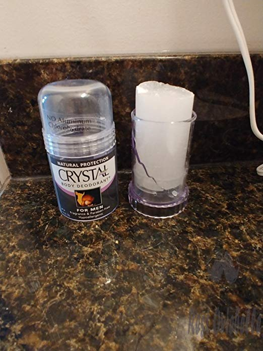 Crystal Rock Mineral Deodorant Stick for Men, Unscented, 4.25 oz (Pack of 2) Customer Image 3