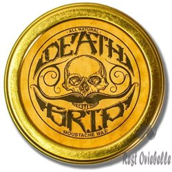 Death Grip Moustache Wax, All-Natural,