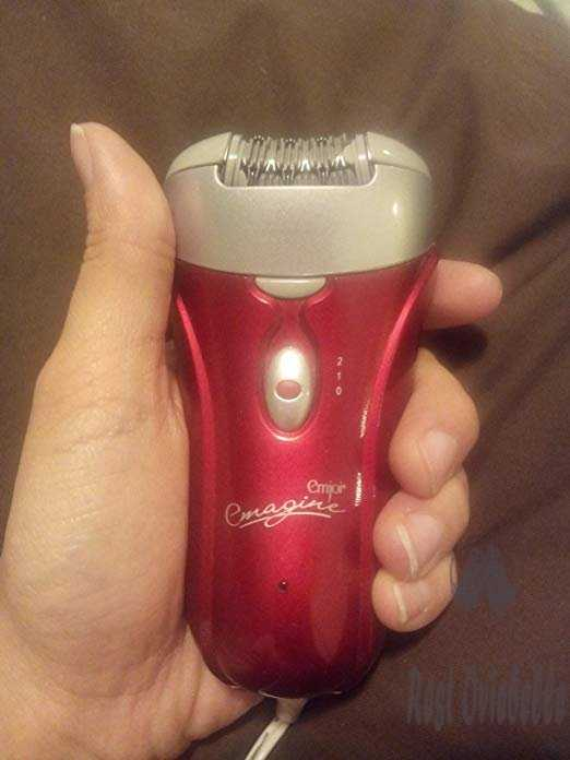 Emjoi AP-18 Emagine Dual Opposed 72 Tweezer Head Epilator Customer Image 1