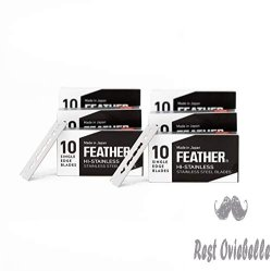 Feather FHS-10 Single Edge Razor Blades